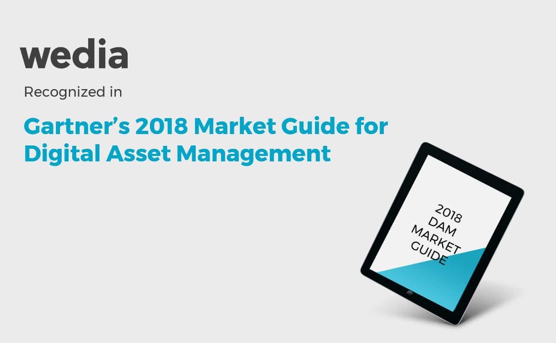 DAM market guide 2018 Gartner