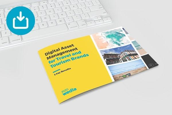 Wedia - Free eBook DAM for Travel & Tourism Brands
