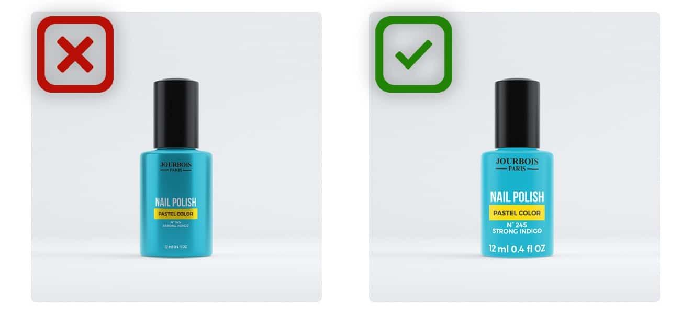Original Packshot vs Mobile Ready Hero Image