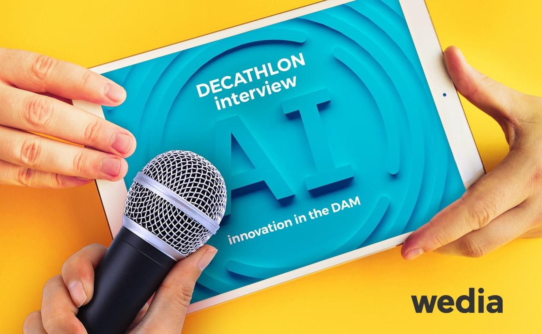 Decathlon Interview zum Thema KI und DAM