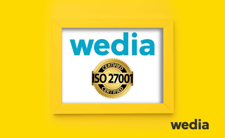 Wedia reçoit la certification ISO 27001
