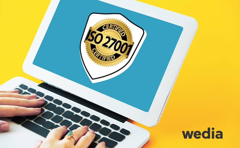 Wedia erhält ISO 27001:2013 Zertifizierung