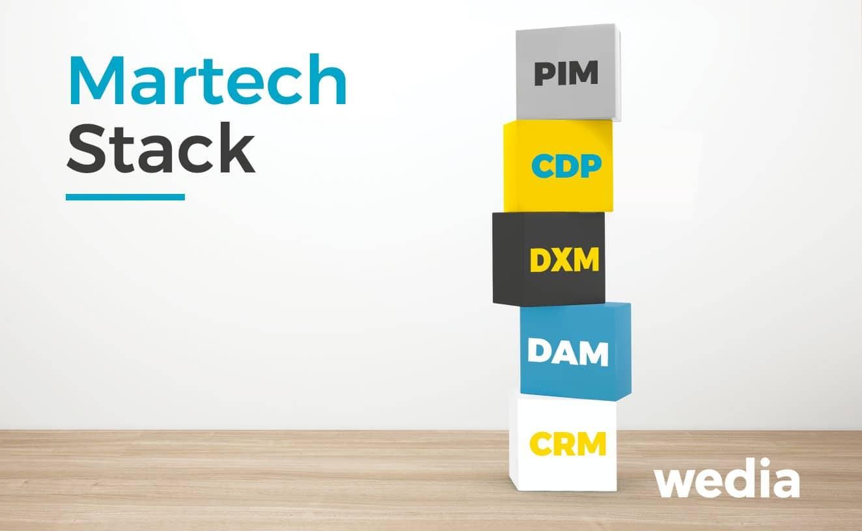 La place du DAM et du DXM dans la stack Martech