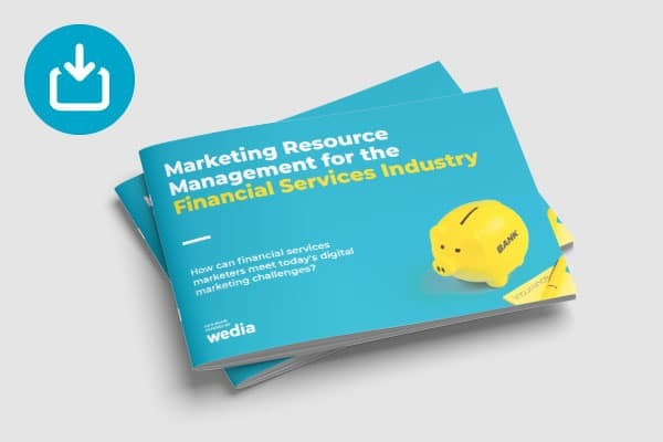 eBook - Marketing Resource Management for the financial services industry