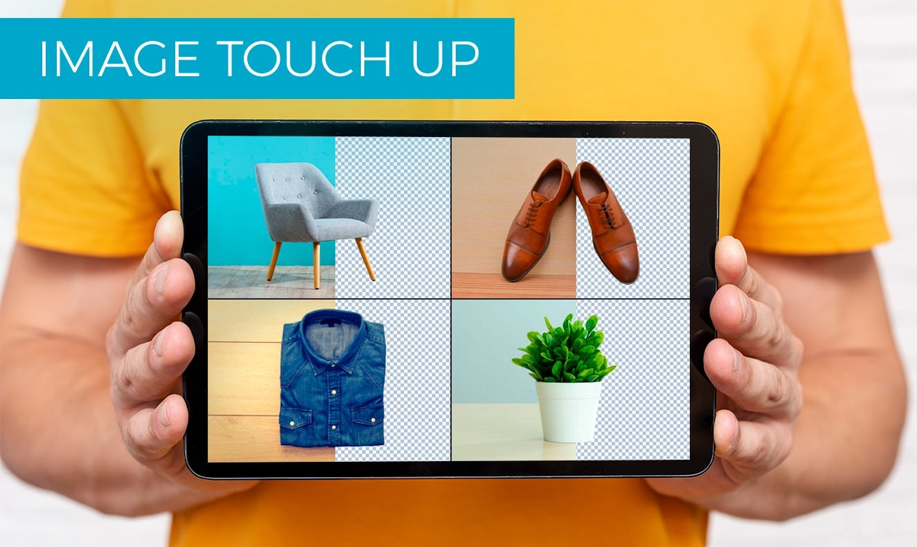 Image touch up