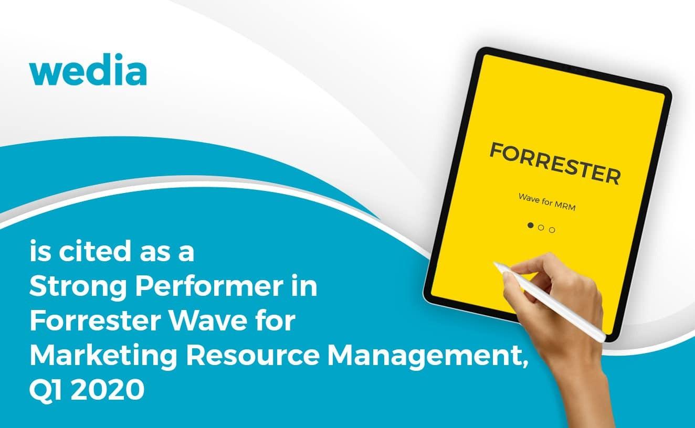 Wedia Forrester Wave MRM