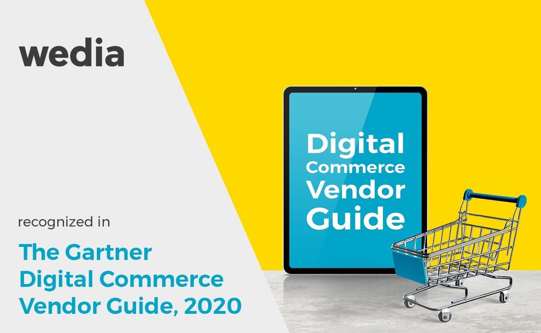 Wedia DAM Gartner Digital Commerce Vendor Guide