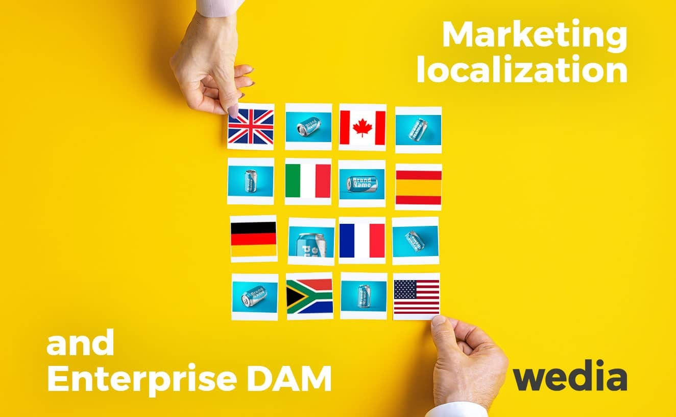 Marketing localization with enterprise DAM