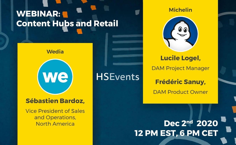 Participez au webinaire Content Hubs and Retail !