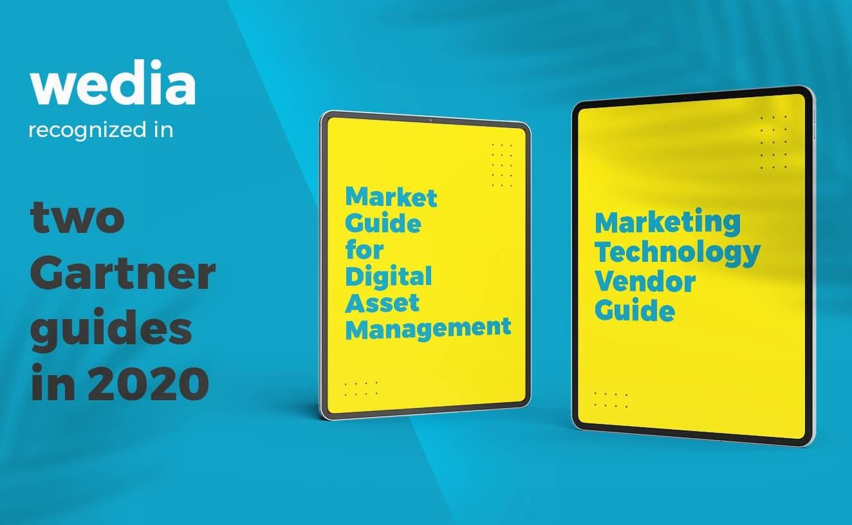La solution de Digital Asset Management de Wedia citée dans des rapports Gartner 2020