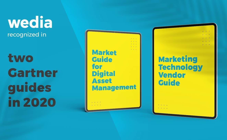 Wedia Digital Asset Management in Gartner-Berichten 2020 ausgezeichnet