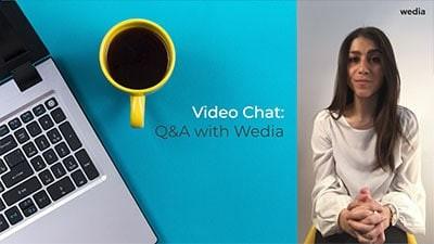 Piloter les canaux de vente via votre DAM, discussion et questions/réponses en vidéo avec notre expert Wedia