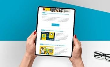 Wedia - helpful Marketing Resources: Newsletter