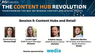 Wedia - Webinar: Content Hubs and Retail