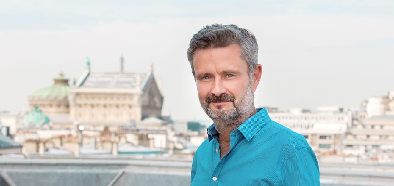Nicolas Boutet, dem CEO des Unternehmens Wedia