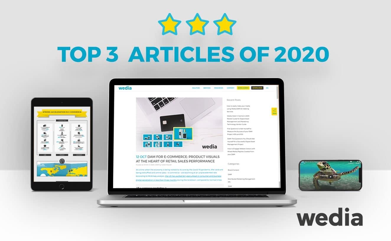 Les 3 articles impactants de l'année 2020