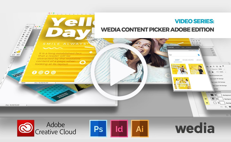 Wedia Content Picker Adobe Creative Cloud edition