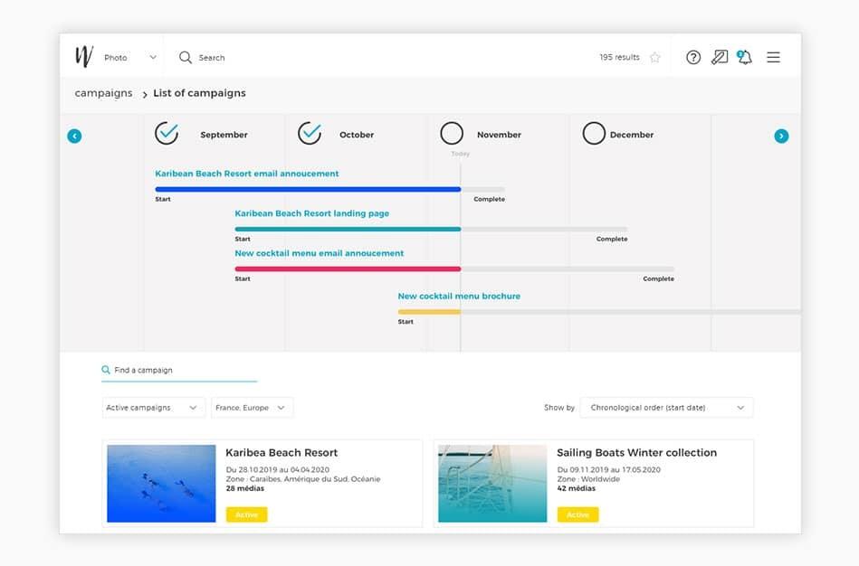 Wedia - Distributed Marketing Management: Optimierung der Markteinführungszeit und Kosten