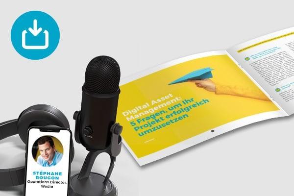 E-Book - 10 Fragen, um Ihr DAM-Projekt erfolgreich umzusetzen und dessen ROI zu messen