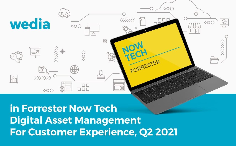 Wedia Forrester Digital Asset Management Now Tech Q2, 2021