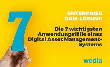 Wedia - Blog: Warum in ein Enterprise-DAM investieren? Alle Antworten anhand von 7 Anwendungsfällen