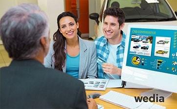 Wedia - Blog: Automobilabsatz mit einem Enterprise DAM ankurbeln