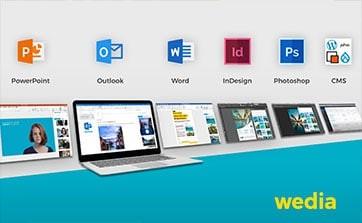 Wedia - Blog: Der Wedia Content Picker - so verbinden Sie Ihr DAM mit Ihrem App-Ökosystem