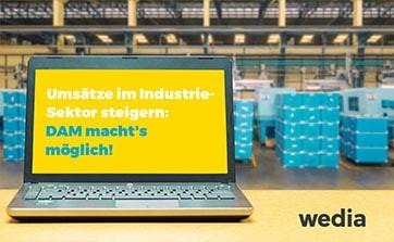 Wedia - Blog: Steigern Sie Ihre Umsätze im Industrie-Sektor dank DAM