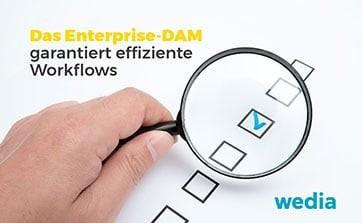Wedia - Blog: Das Enterprise-DAM als ideale Grundlage für effiziente Workflows und Teamarbeit