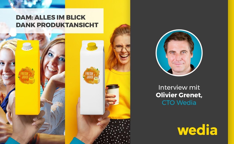 itw DAM-Produktansicht, Olivier Grenet Technikvorstand