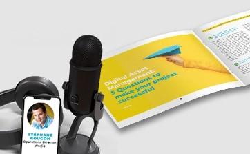 Wedia - eBook : 10 questions pour réussir votre projet DAM