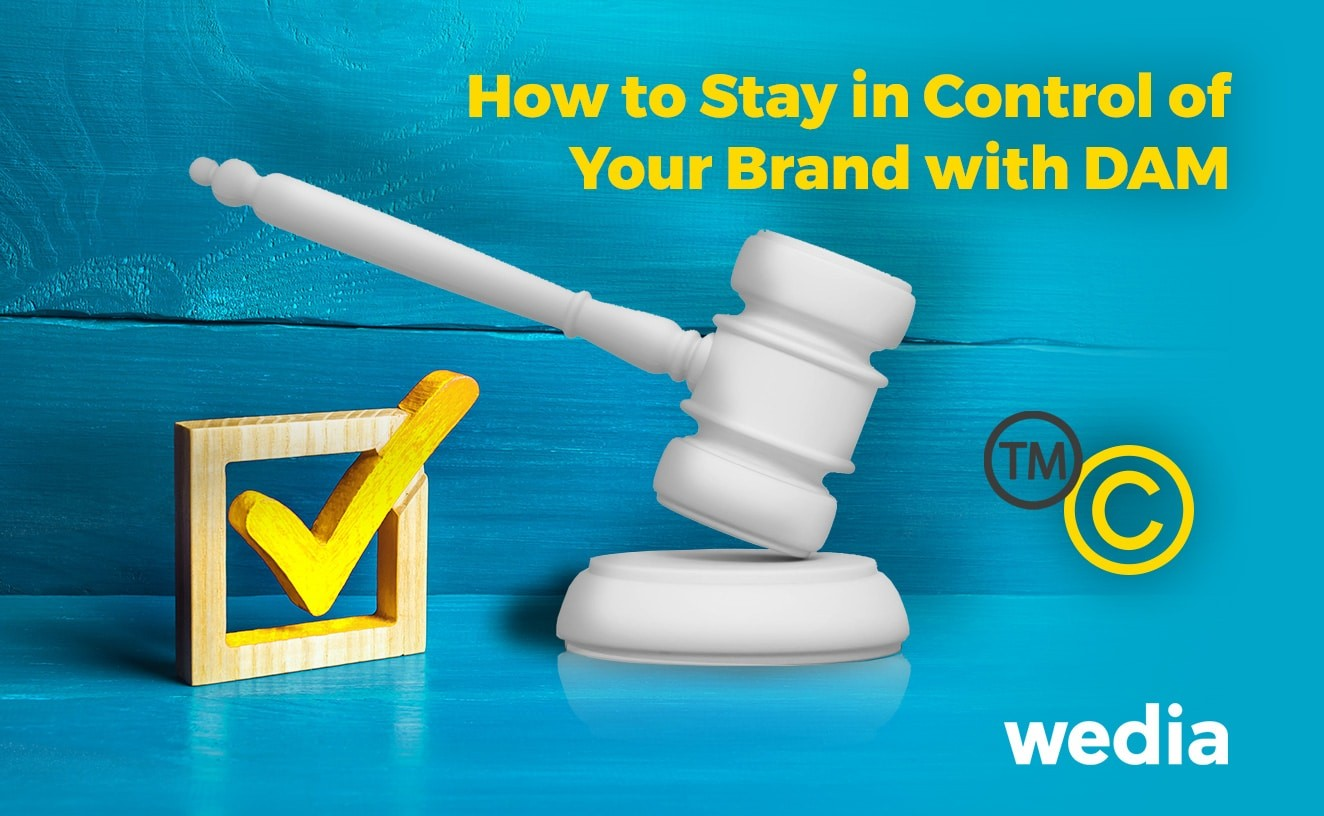 Master brand management with a DAM