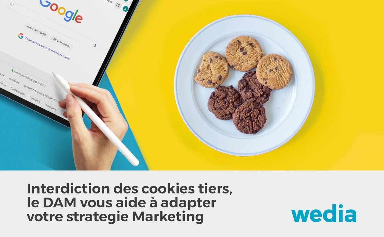 Incidence des cookies tiers sur le marketing et le DAM